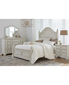 Trisha Yearwood Jasper County Dogwood Panel Bed Bedroom Collection