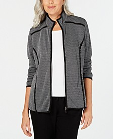 French Terry  Zip-Up Jacket, Created for Macy's
