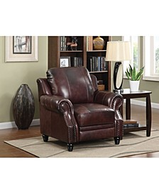 Princeton Rolled Arms Push Back Recliner