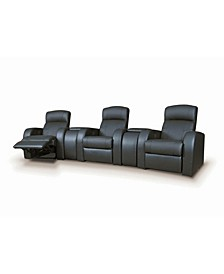 Cyrus Home Theater Upholstered Recliner