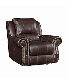 Coaster Home Furnishings Sir Rawlinson Upholstered Swivel Rocker Recliner