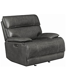 Stanford Power Glider Recliner with Power Headrest and Bluetooth Remote Connectivity