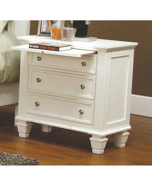 Coaster Home Furnishings Sandy Beach 3-Drawer Nightstand