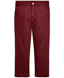 Toddler Boys Flat-Front Chino Pants