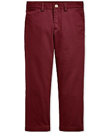 Polo Ralph Lauren Toddler Boys Flat-Front Chino Pants