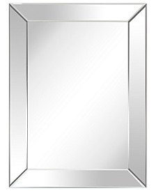 """Solid Wood Frame Covered with Beveled Clear Mirror - 40"""" x 30"""""""