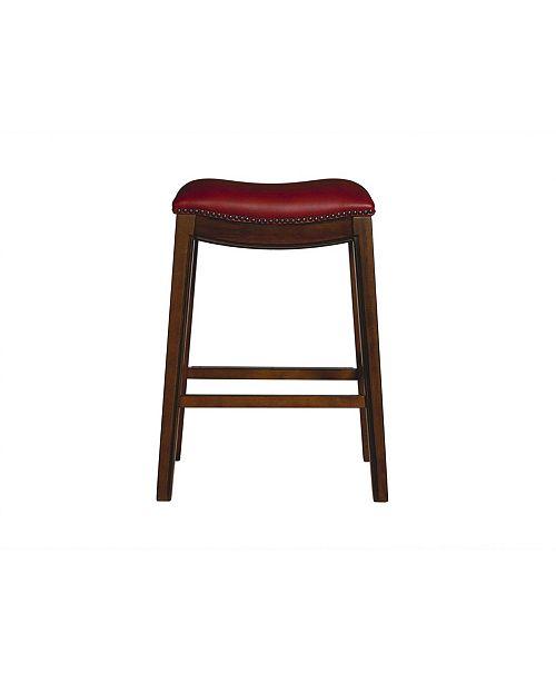 "Picket House Furnishings Bowen 30"" Backless Bar Stool"