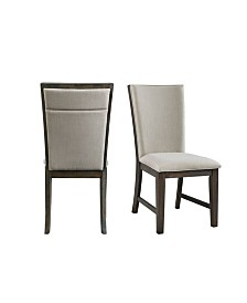 Picket House Furnishings Jasper Upholstered Side Chair Set
