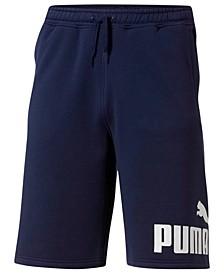Men's Logo Big and Tall Fleece Shorts