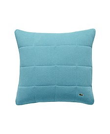 "Lacoste Quilted Pique Decorative Pillow 20"" X 20"""