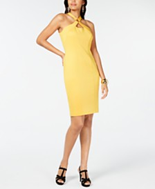 Thalia Sodi Halter Ring Dress, Created for Macy's