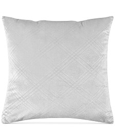 """Sunham Embroidered Velvet 2-Pk 20"""" x 20"""" Decorative Pillow"""