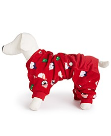 Matching Santa and Friends Pet Pajamas, Created for Macy's
