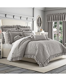 Emily Alloy Full/Queen 3pc. Comforter Set