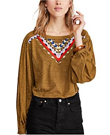 Hand Me Down Embroidered Top