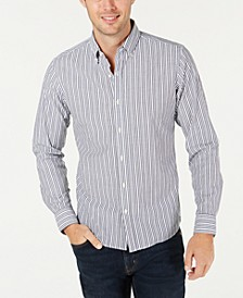Men's Slim-Fit Stretch Stripe Benton Shirt