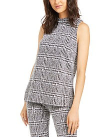 Michael Michael Kors Plaid Tunic, in Regular and Petites