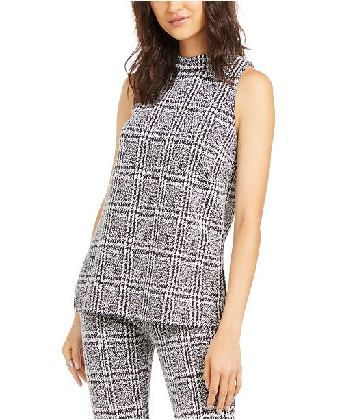 Michael Kors Plaid Tunic, in Regular and Petites
