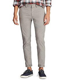 Polo Ralph Lauren Men's Stretch Slim Fit Cotton Twill Pants