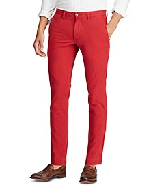 Men's Stretch Slim Fit Cotton Twill Pants