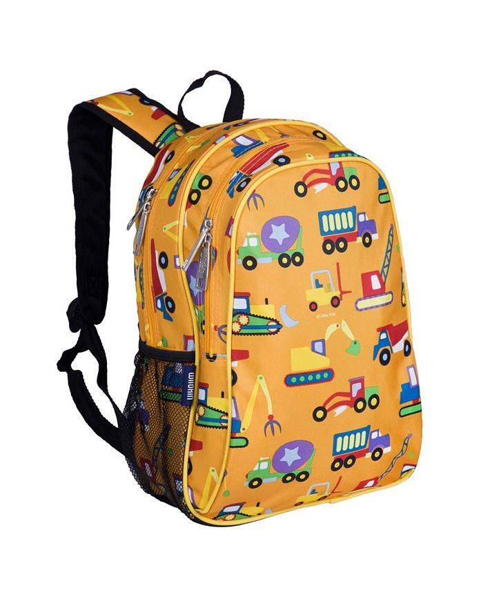 Wildkin - Under Construction 15 Inch Backpack