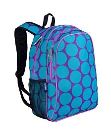 "Wildkin Big Dot Aqua 15"" Backpack"