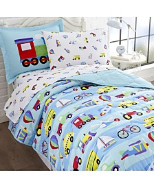 Wildkin's on the Go Sheet Set - Twin