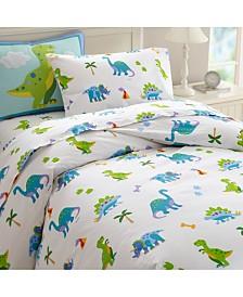 Wildkin Dinosaur Land Twin Duvet Cover