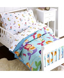 Wildkin's Mermaids Sheet Set - Toddler