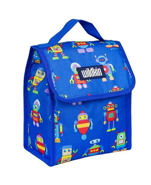 Wildkin Robots Lunch Bag