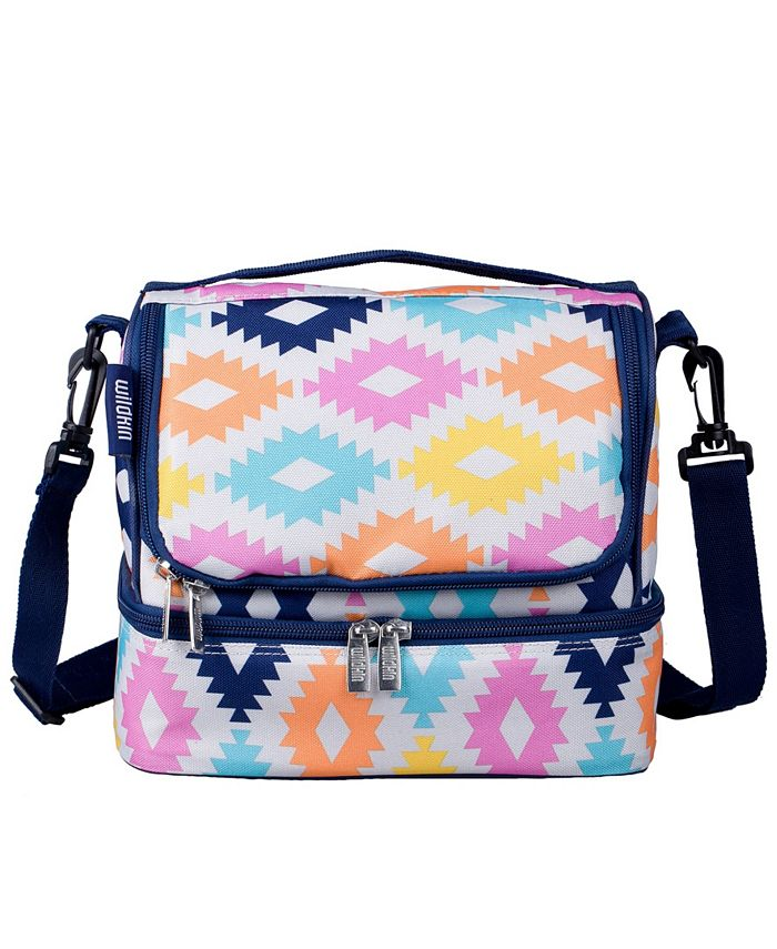 Wildkin - Aztec Two Compartment Lunch Bag