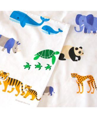 Endangered Animals Twin Sheet Set