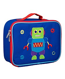 Robot Embroidered Lunch Box