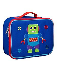 Wildkin Robot Embroidered Lunch Box