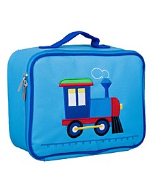 Train Embroidered Lunch Box