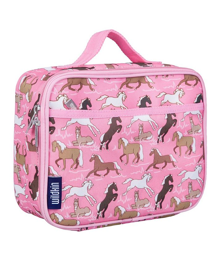 Wildkin - Horses in Pink Lunch Box