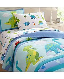 Dinosaur Land 100% Cotton Pillowcase