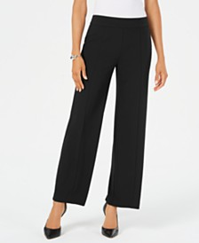 JM Collection Petite Wide-Leg Pants, Created for Macy's