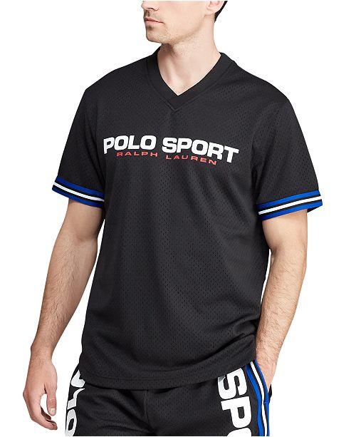 Polo Ralph Lauren Polo Ralph Lauren Men's V-Neck Performance Mesh Shirt