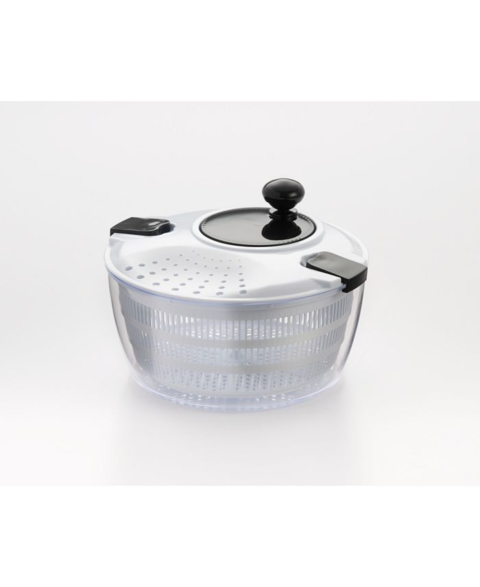 Cook Pro - 4.5 Qt Salad Spinner W/Locking and Straining Mechanism