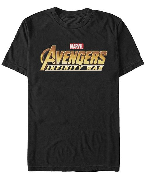 Marvel Men's Avengers Infinity War Avengers Logo Short Sleeve T-Shirt