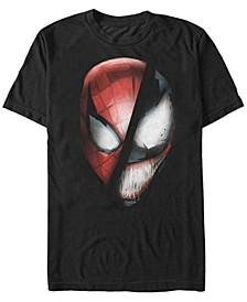 Men's Universe Spider-Man Venom Face off Short Sleeve T-Shirt