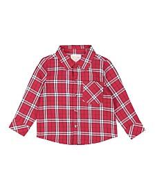 Masala Baby Boy Mason Shirt Tartan