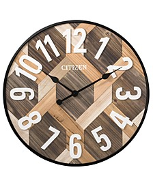 Gallery Wooden Plank Wall Clock