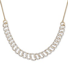 "Wrapped in Love™ Diamond Oval-Link 20""-24"" Statement Necklace (2 ct. t.w.) in 14k Gold, Created for Macy's"