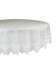 "Nordic Lace Tablecloth 70"" Round"