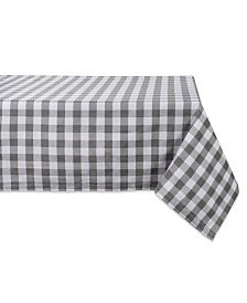 "Design Imports Checkers Table Cloth 60"" x 104"""
