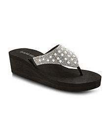 Olivia Miller Faith, Hope, Love Wedge Sandals