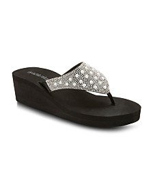 Olivia Miller Faith, Hope, Love Wedge Sandals