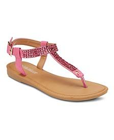 Roman Holiday Embellished Sandals
